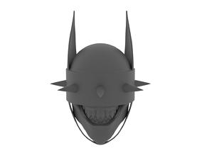 3D printable model BATMAN WHO LAUGHS BATMAN QUE RIE