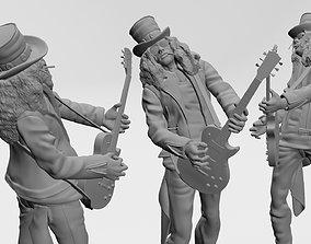 Saul Hudson - Slash - 3d printable