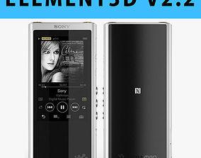 E3D - Sony Walkman NW-ZX300 MP3 Players 3D 3D model