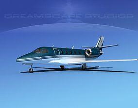 Cessna C560XL Citation V09 3D model