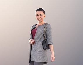 3D model Estelle 11057 - Business Woman Walking With Bag
