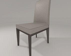 bess highbacked chair 3D model