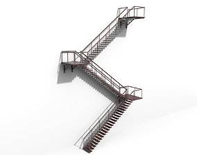 Fire Escape 3D model