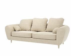 Sofa Lazzoni Paria 3D model