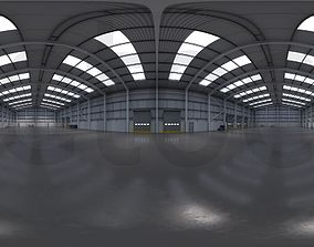 3D asset HDRI - Industrial Warehouse Interior 11