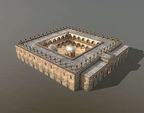 3D model Cathedral Building Buyuk Han Mosque Cyprus
