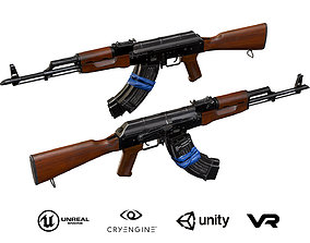 3D model AKM with electrical tape
