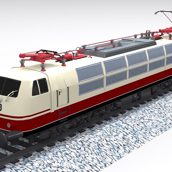 Blauer Enzian train