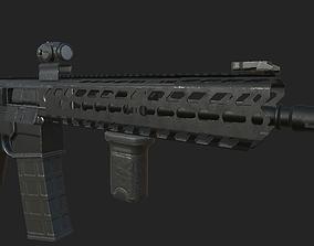3D asset SIG MCX Carbine