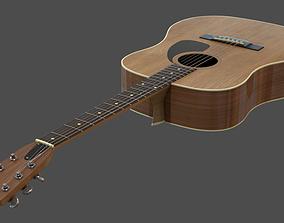 musical 3D model Acoustic Guitar