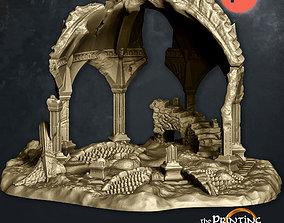 3D print model Fehntop Ruins - Supportless Diorama - FDM 1