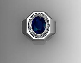Signet Ring For Men 3D print model