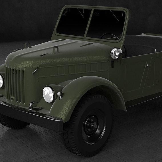 1970 GAZ-69a