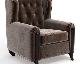 3D model Branly Arm Chair by Jean De Merry