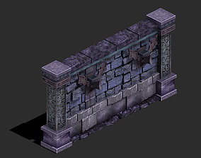 Wicked grave - wall 3D