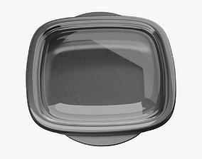 3D asset Medium Food Container 3