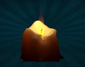 3D PROP-0001 Candle