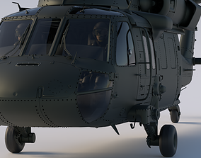 3D helicopter UH-60 Black Hawk