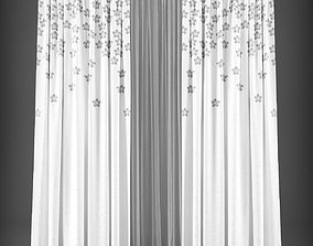 Curtain 3D model 263 realtime