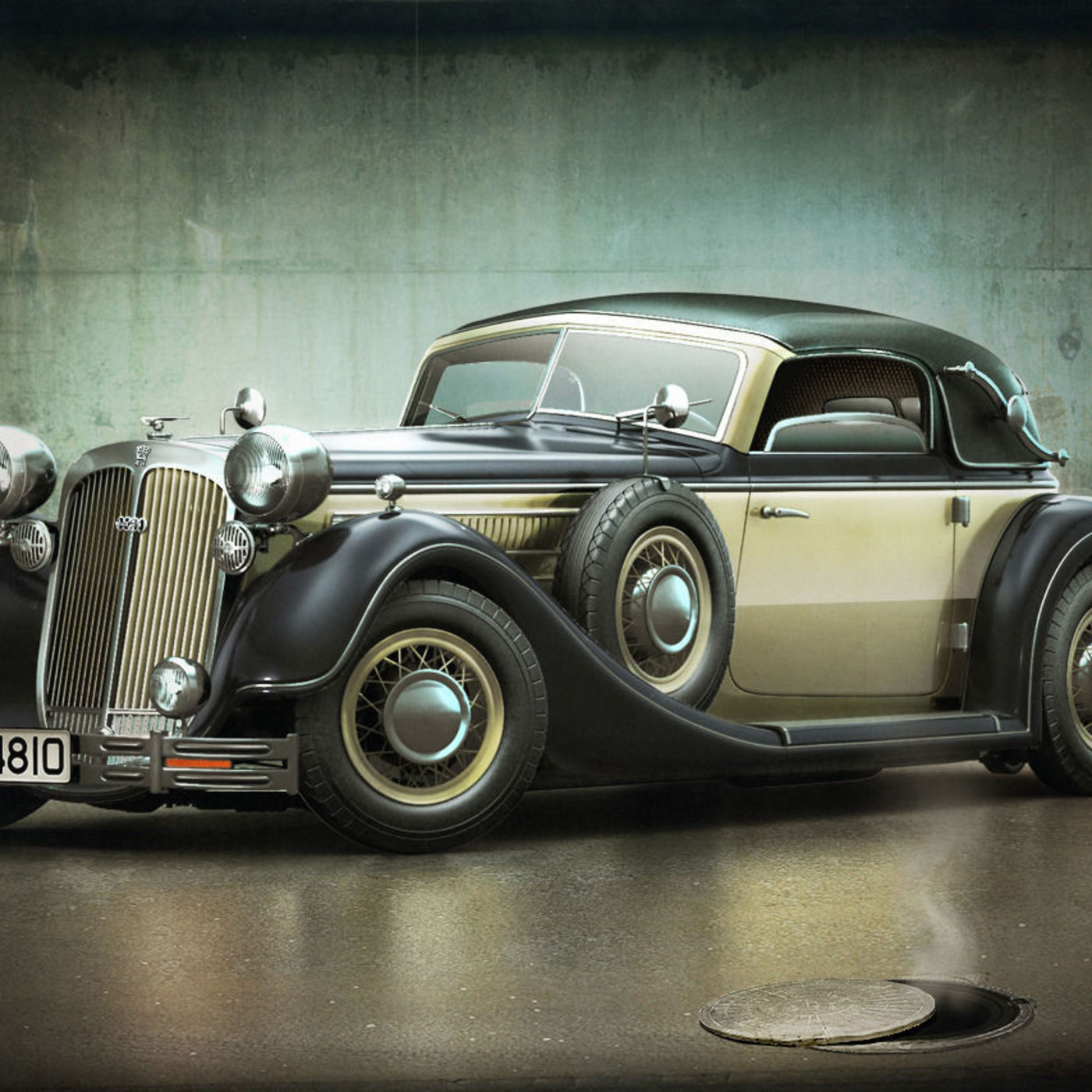 Horch 853