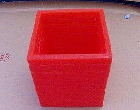 small pot slash box 3D printable model