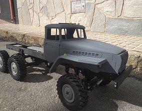 Crawler chasis 6x6 Ural rc truck 3D print model