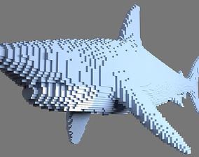 AS LowRez Series - Shark 3D printable model