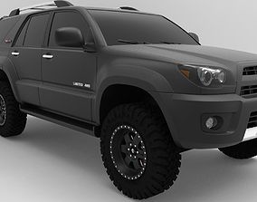 2009 Toyota 4Runner TRD Pro edition 4x4 3D model