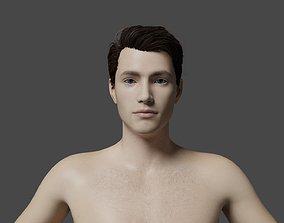 Man model animated
