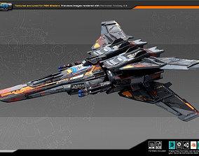 SF Fighter RK7 3D model