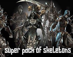 Skeletons super pack 3D