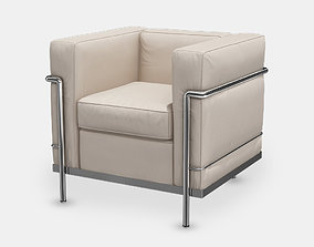 3D model lc2 Cassina armchair