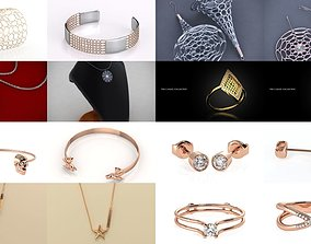3D Modern and Fashionable Jewelry