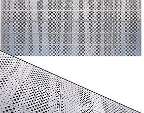 perforated metal panel N23 3D