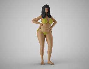 Girl Peace of Mind 2 3D print model