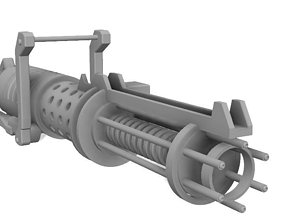 3D printable model Z-6 Rotary Blaster Cannon - The Clone 1
