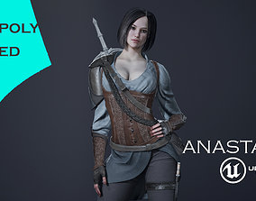 Anastasia 3D asset