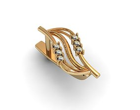 3D print model earrings 1517
