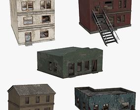 Houses Pack 3D asset