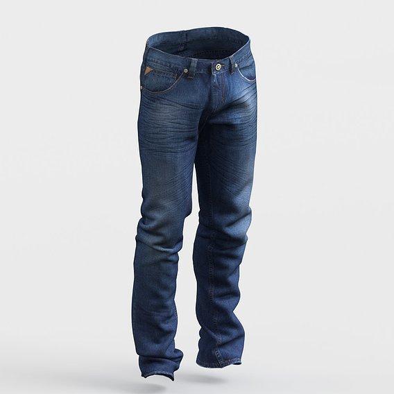 Jeans photorealistic