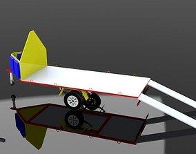 Trailer Motor Aink 3D model