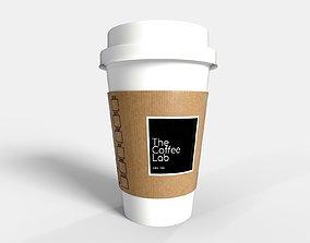 PBR Coffee Cup - Coffee Lab 3D model