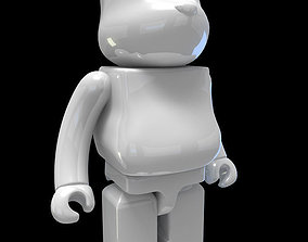 BearBrick 3D Model toy