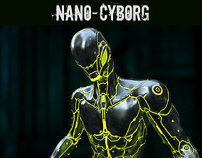 3D asset Nano-Cyborg