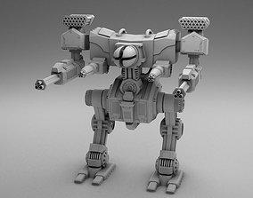 3D printable model Robot fighter