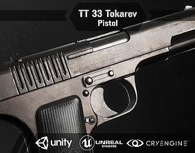 3D model TT 33 Tokarev pistol