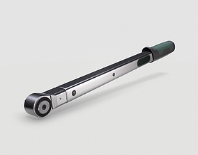 Torque wrench tool 3D model