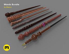 Harry Potter Wands Bundle 2 3D printable model