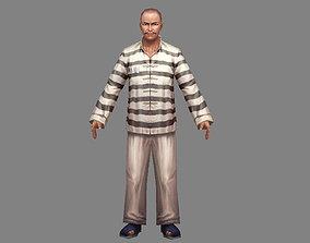 3D asset The criminal