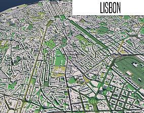 3D Lisbon Portugal